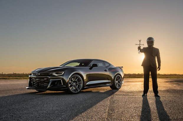 Изгоняющий Демона: Chevrolet Camaro ZL1 стал Экзорцистом