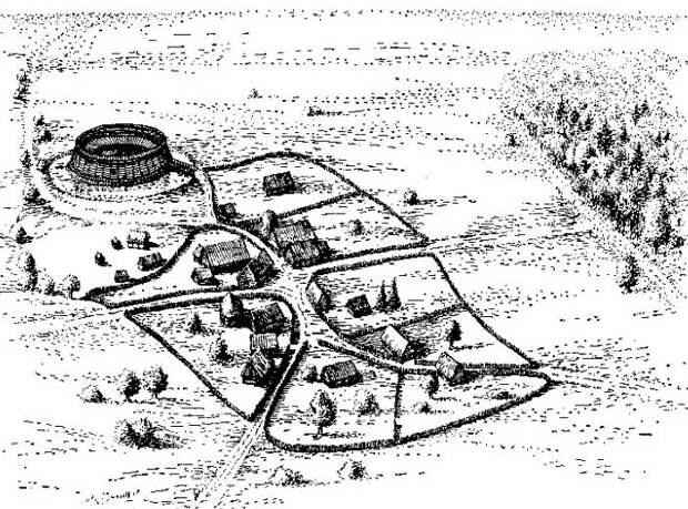 Осадное дело славян в VI—VII веках