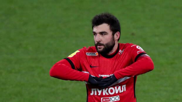 Джикия хочет включить вконтракт со «Спартаком» отступные для европейских клубов