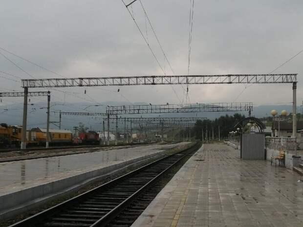 Железнодорожный путь ЗабЖД в Амурской области перекрыт