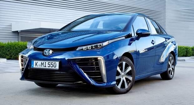 Toyota Mirai — технологии водородомобилей, над которыми компания работает более 29 лет