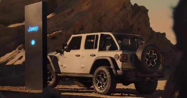 Jeep снял электрическую одиссею 2021 года
