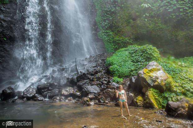 Водопад Секумпул