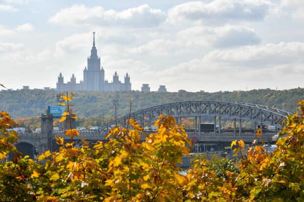 Период «золотой осени» завершается в Москве