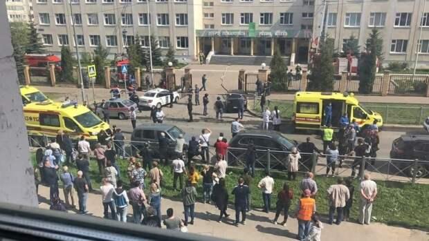 Семьи погибших при стрельбе в казанской школе получат выплаты до конца дня