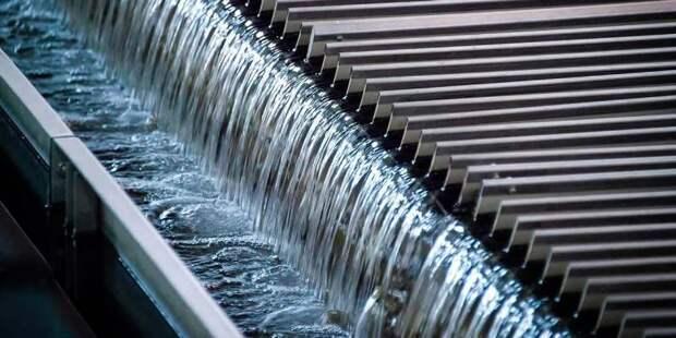 Расход воды в Москве становится все более экономичным