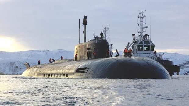Крылатая ракета «Гранит» поразила цель в Баренцевом море