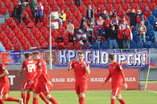 Алексей Ивахов почти повторил свой лучший результат в истории ФК «Енисей»