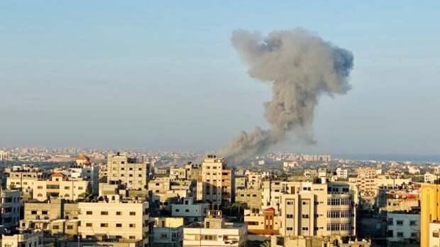 Армия Израля нанесла ракетный удар попосту ХАМАС