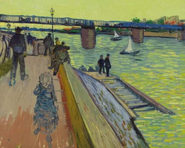Картина Ван Гога «Мост в Тренктае» ушла с аукциона за $39,2 млн