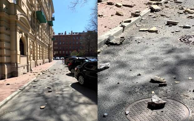 В центре Петербурга рушатся дома: что делать жителям города
