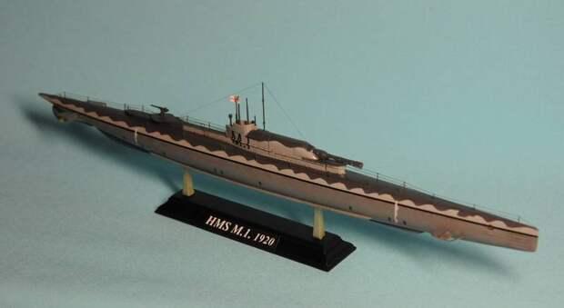 Подводные лодки с линкорным калибром