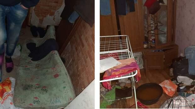 На Украине запертые голодные дети через окно молили о помощи
