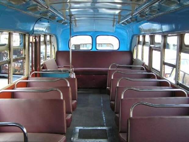 Послевоенный ЗИС 90-е годы, СССР, автобус