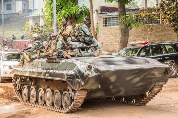 Боевики используют жителей ЦАР в качестве живого щита и скрываются от ВС республики