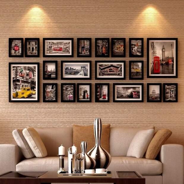 Идеи для домашней фотогалереи