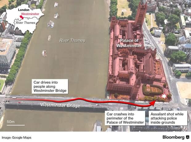 Выяснены скрытые подробности теракта в Лондоне