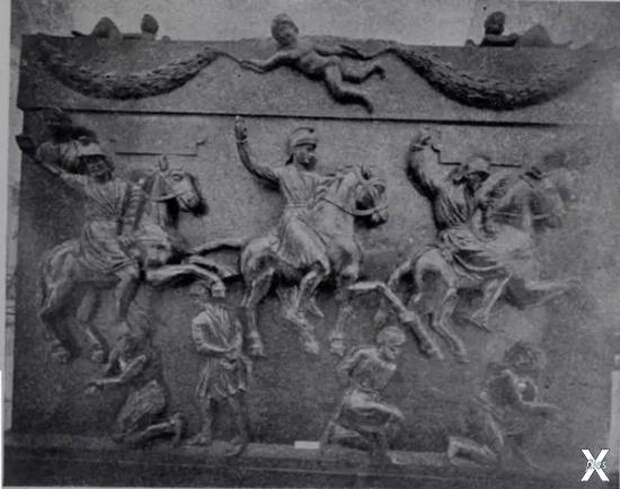Задняя боковина корпуса саркофага, ко...