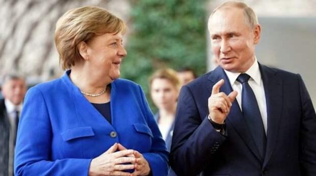Разговор Путина и Меркель о Донбассе стал сигналом для Киева – эксперт