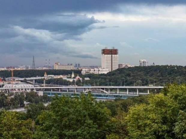 Москвичей предупредили о грозе с порывистым ветром в четверг
