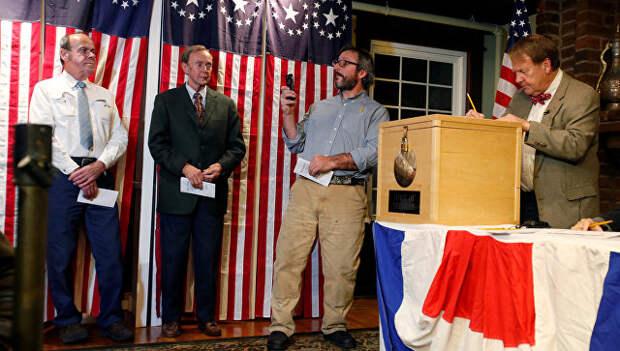 Выборы в Диксвилл-Нотч в штате Нью-Гэмпшир