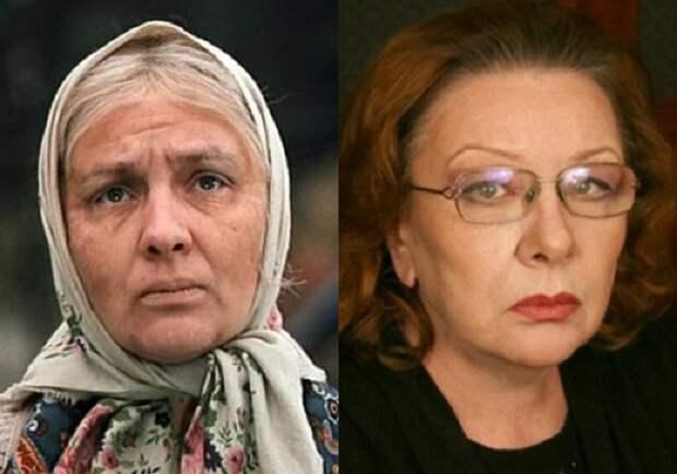 Советская и российская актриса театра и кино.