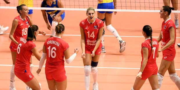 Стал известен состав женской сборной России по волейболу на Лигу наций