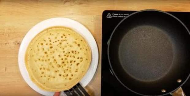 Быстрый и вкусный завтрак на сковороде для всей семьи