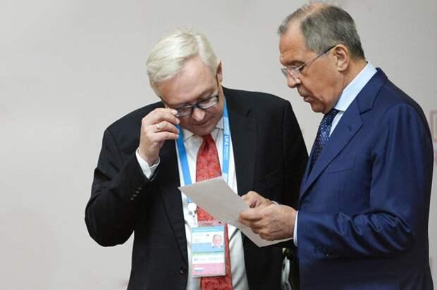 Министр Лавров и его зам Рябков.jpg