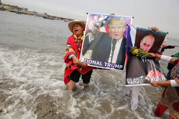 Перуанские шаманы предсказали, каким будет 2017 год для Путина и Трампа
