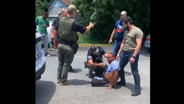 Видео с жестким задержанием стало причиной массовых протестов в Южной Каролине