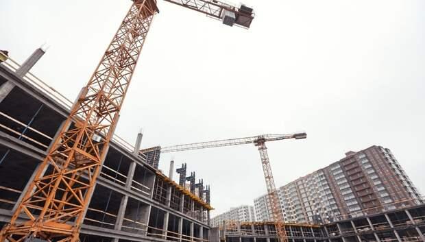 Большая часть строительных работ приостанавливается в Московском регионе с понедельника