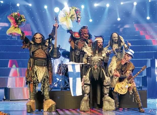 Lordi на сцене евровидения