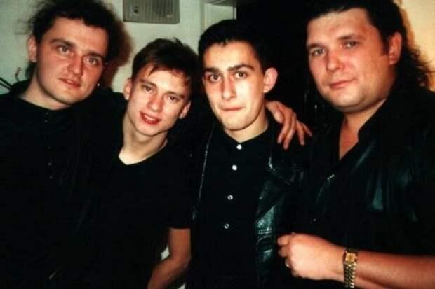 Группа Нэнси в начале 90-х годов