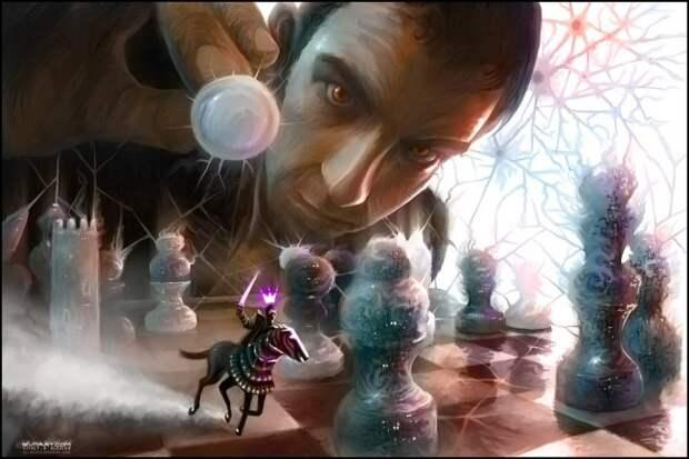 Фантастические работы художника Vitaly S. Alexius.