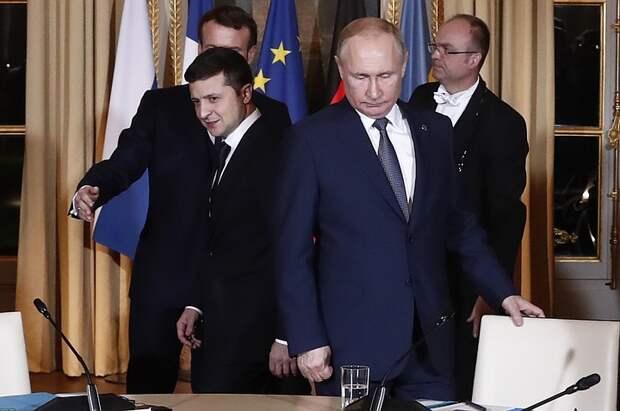 Киев продолжает уверять, Зеленский и Путин встретятся. Но игнорирует вопрос - зачем