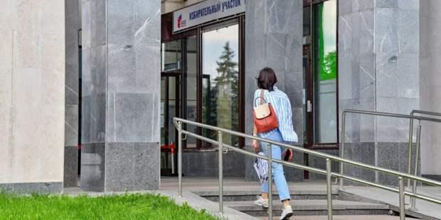 Асафов: Голосование в Москве проходит без нарушений и сбоев. Фото: mos.ru