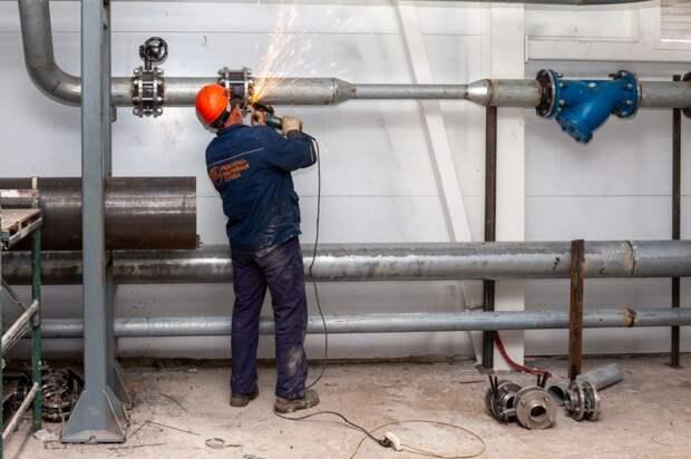 Горячая вода начала появляться в домах жителей поселка Новый Воткинского района