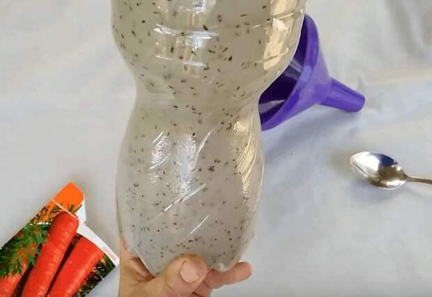 Умный способ посадки моркови без прореживания для хорошего урожая