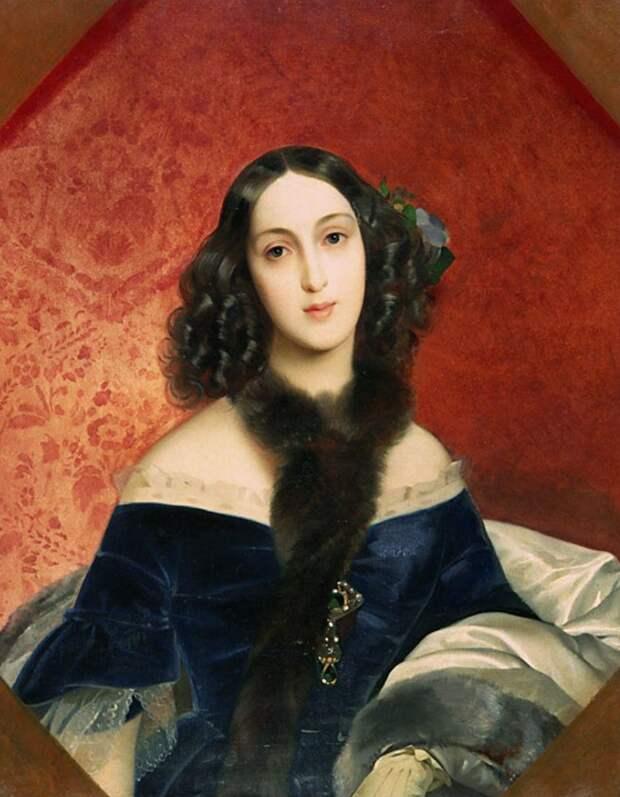 Мария Аркадьевна. худ. Карл Брюллов, 1840 г. Источник: WikiCommons