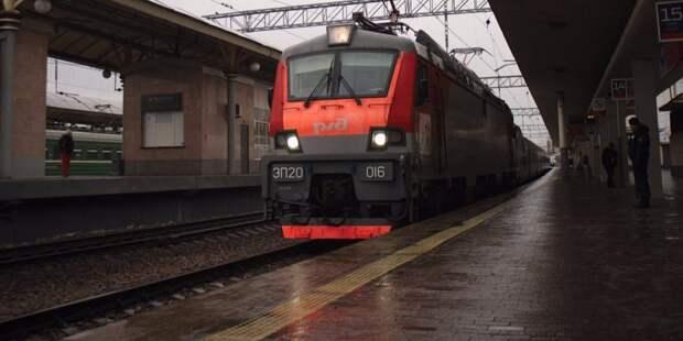 Несколько электричек от станции Ховрино отменят в последние дни марта