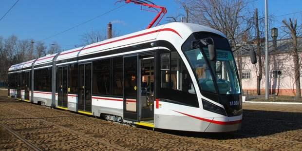 В Коптеве замена кабеля стала причиной долгого ожидания трамвая