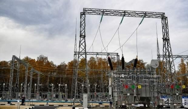 Электрическую подстанцию «Очаково» на западе Москвы реконструируют