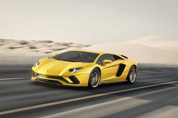 Полное управление: Lamborghini представила Aventador S