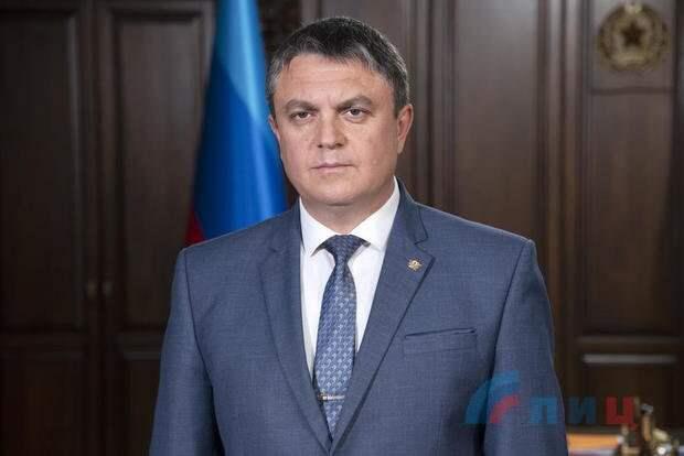 Поздравление главы ЛНР Леонида Пасечника с Днем Победы