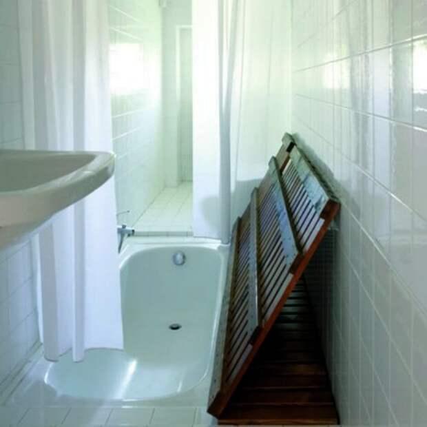 Крышка для встроенной ванны.