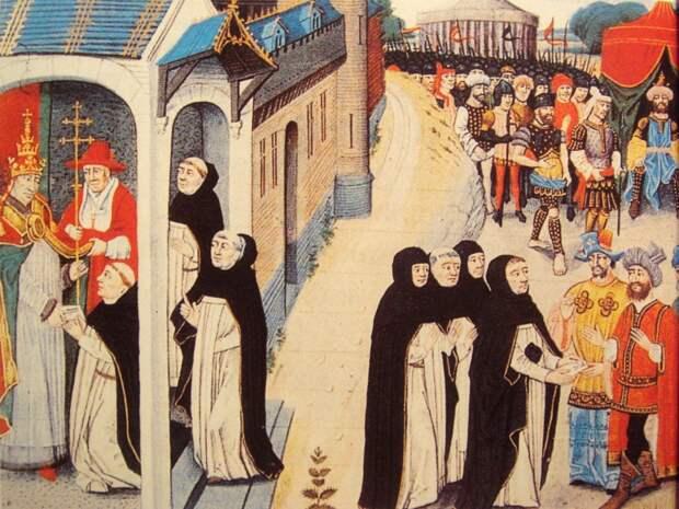 Папская внешняя политика XIII-XIV веков в отношениях с монгольской империей