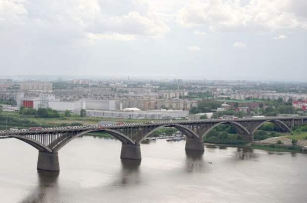 Мужчина утонул в Оке под Мызинским мостом в Нижнем Новгороде