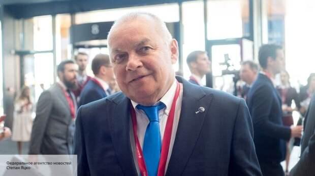 «Крыма у Украины нет, она от него отказалась»: Киселев ответил на ноту украинского МИД