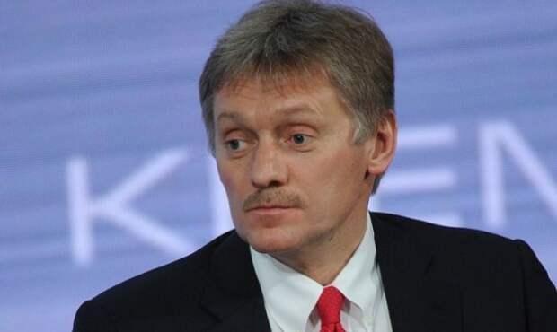 Песков: президент конструктивно относится к критическим замечаниям